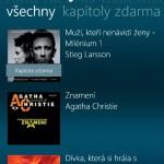 Prochazeni nabidky knih primo v aplikaci