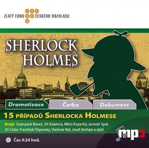 15 případů Sherlocka Holmese Audiokniha