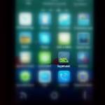 Aplikace Superuser po nastartování telefonu