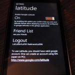 Nastavení / povolení Latitude